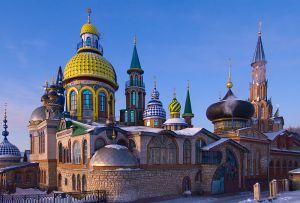 Temple of all religions by Ildar Khanov