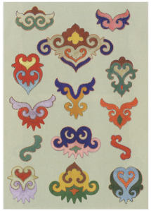 "from book ""Tatar ethnic ornaments by F. Valeev"