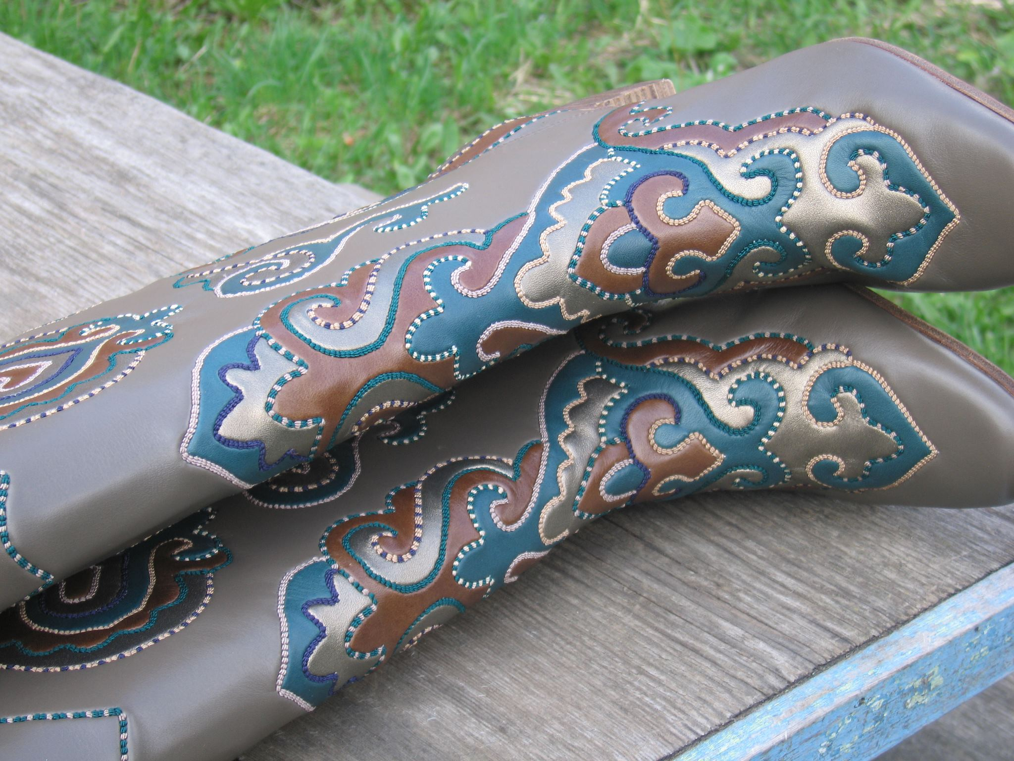 New Sah boots