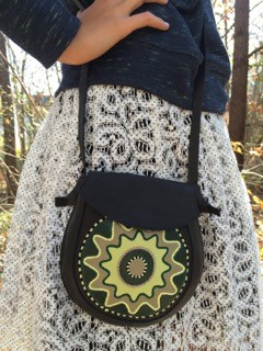 Black&Green  Crossbody bag